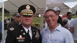 With Colonel H. H. Millard
