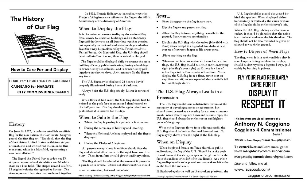 The History of the Flag  B&W one sided.jpg
