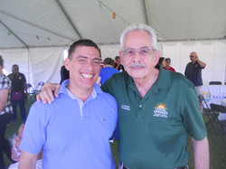 with Commissioner Lou Cimaglia