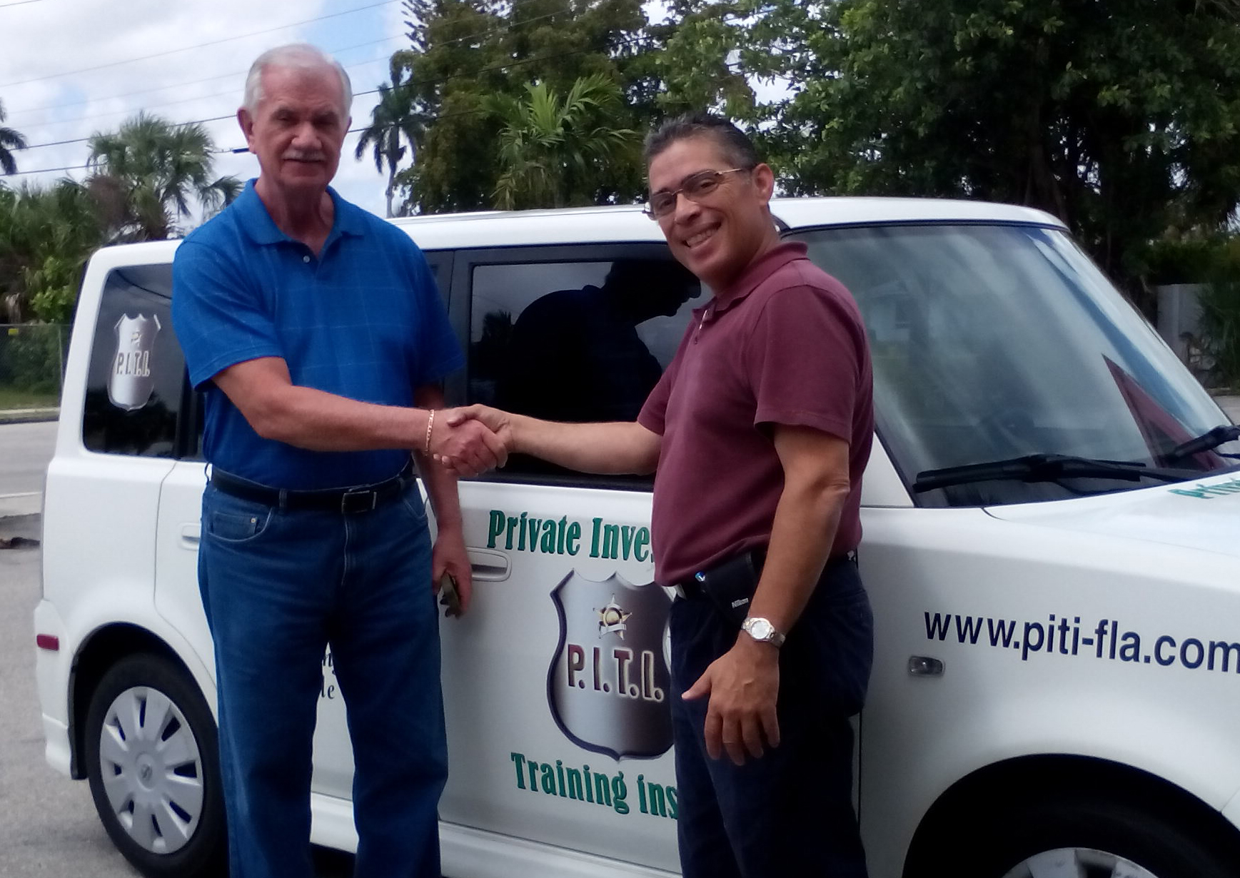 with Steve Mallon,CPI