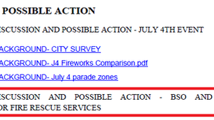 Commissioner Weighs in on Fire-Rescue Alternatives. In the Twilight Zone