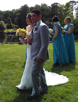 The new Mr. & Mrs. Caggiano
