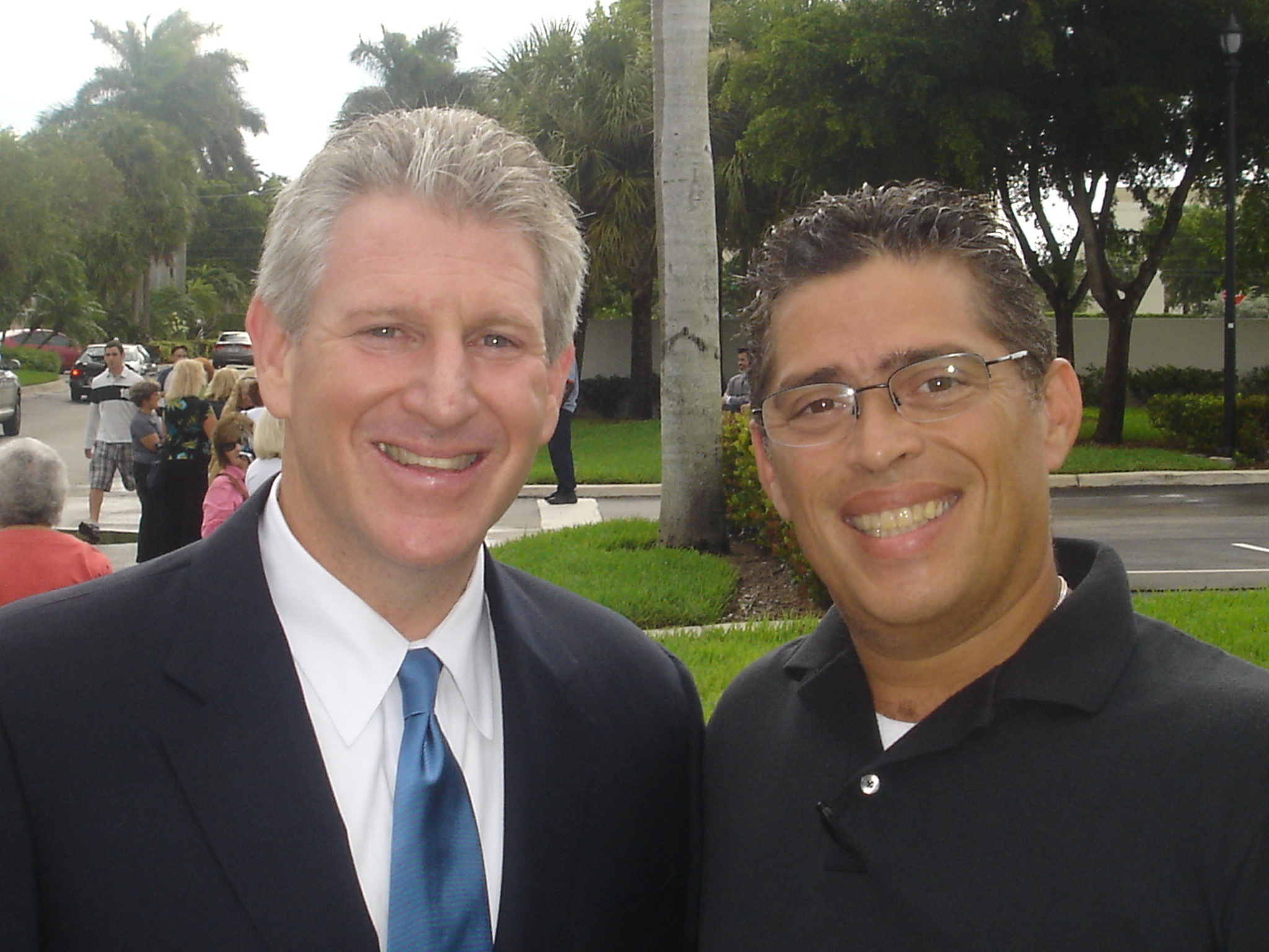 With Congressman Robert Wexler