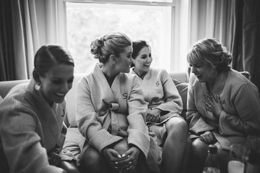 bridal party, updos