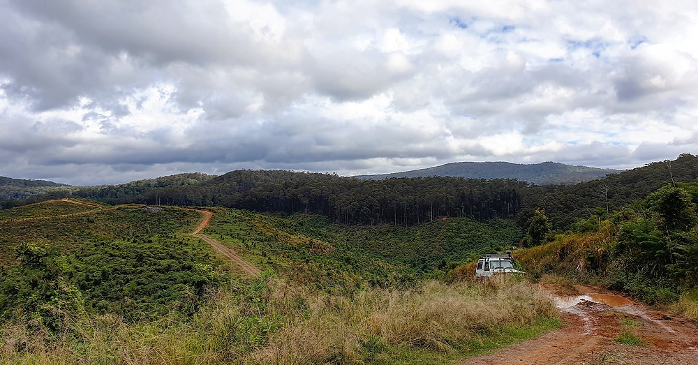 This is the top of the Sunshine Coast. Accessible only with your fourbie!