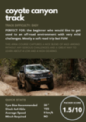 Coyote Canyon Track. 4x4 tag-along in Conondale and Kenilworth