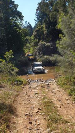 Jeep and FJ Cruiser on Winterfield Peaks Track