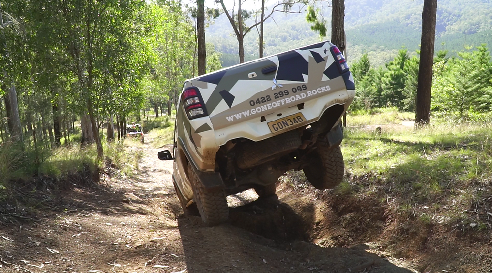 4WD on Hells Bells Track