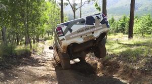 4WD on Hells Bells Track