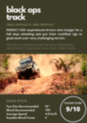 Black Ops Track in Kenilworth. 4x4 Tag-Along Tours.