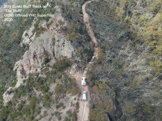Billy Goat Bluff Track during our VHC SuperTour