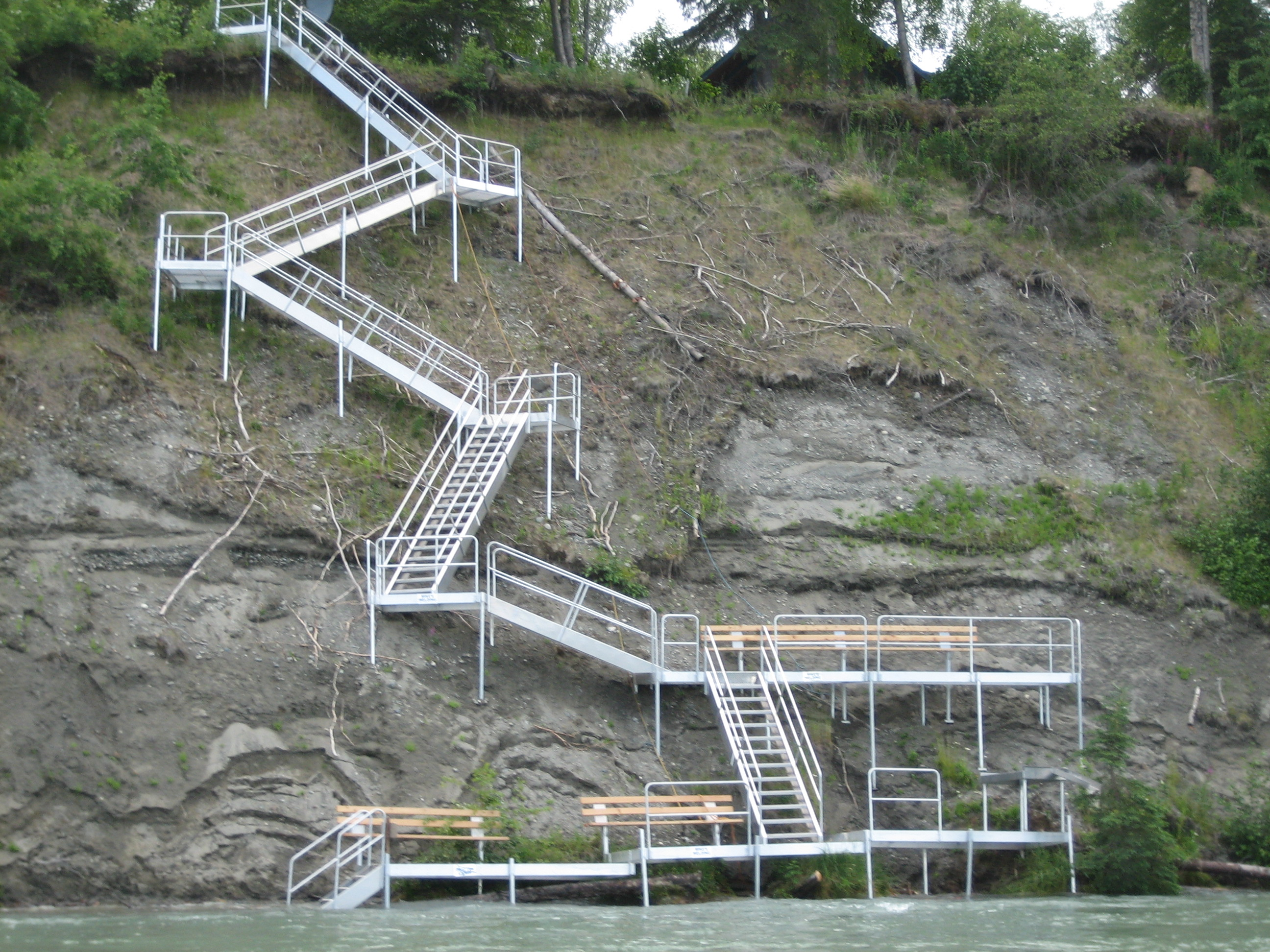 Aluminum Stairways/Boardwalks