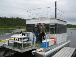 Mike's Custom Pontoon Boat