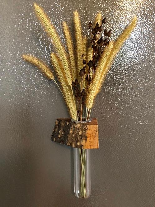 Live Edge Magnetic Vase