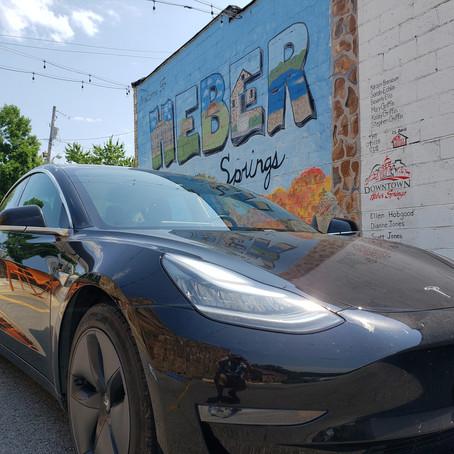Arkansas' Electric Vehicle Oasis, Tesla Camp Mode