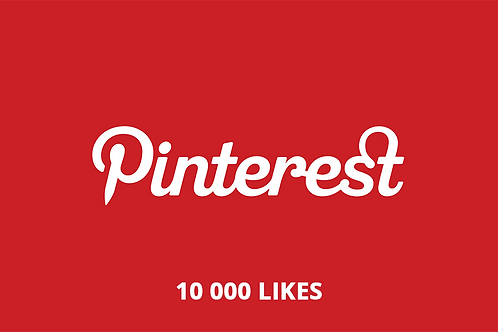10 000 likes Pinterest