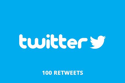100 retweets Twitter