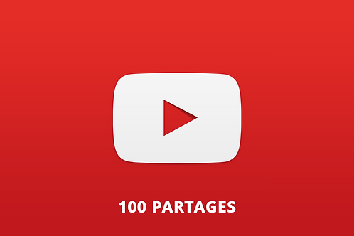 100 partages Youtube