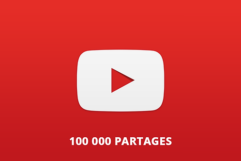 100 000 partages Youtube