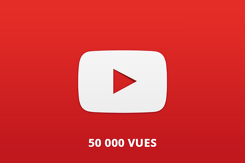 50 000 vues Youtube