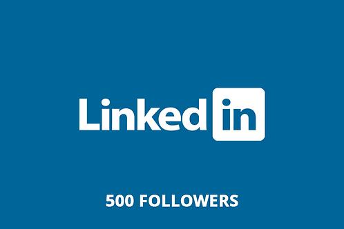 500 followers LinkedIn