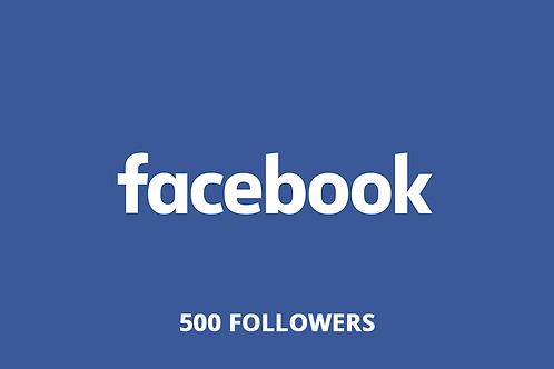 500 followers Facebook