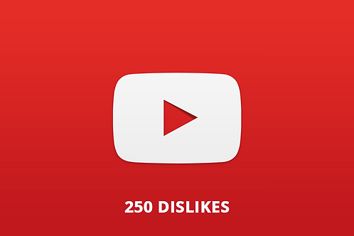 250 Dislikes Youtube