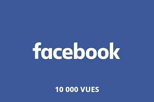 10 000 vues Facebook