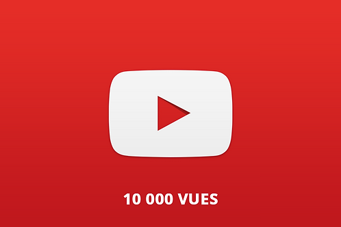 10 000 vues Youtube