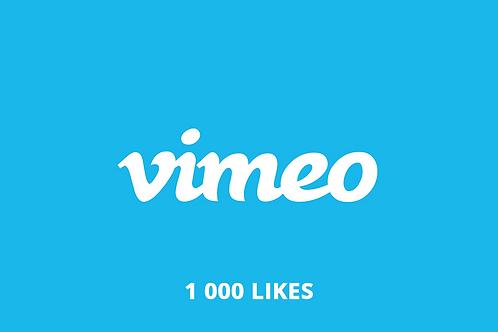 1 000 Likes Vimeo
