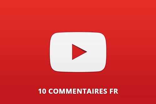 10 commentaires FR Youtube