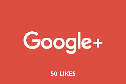 50 likes Google +