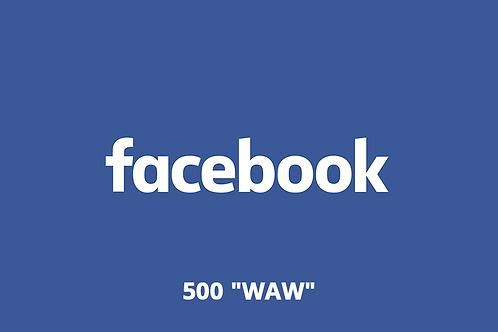 "500 ""Waw"" Facebook"