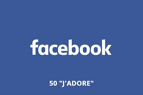 "50 ""J'adore"" Facebook"