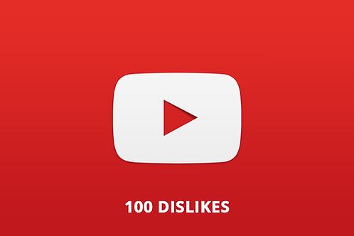 100 Dislikes Youtube