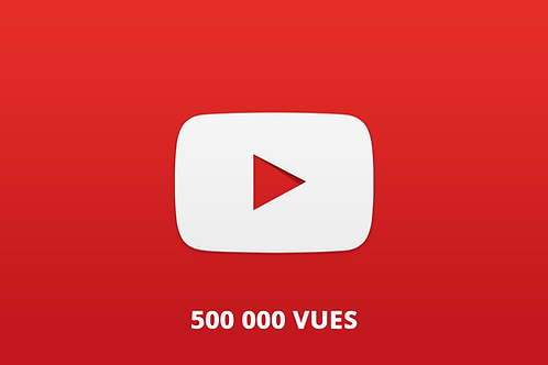 500 000 vues Youtube