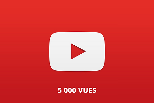 5 000 vues Youtube