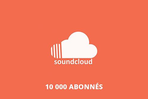 10 000 abonnés Soundcloud