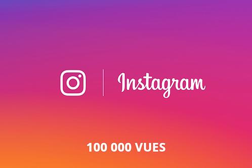 100 000 vues Instagram