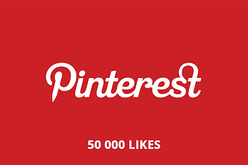 50 000 likes Pinterest