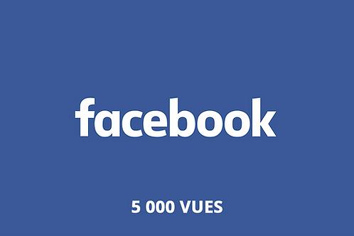 5 000 vues Facebook
