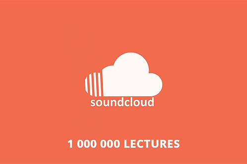 1 000 000 lectures Soundcloud