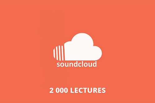 2 000 lectures Soundcloud