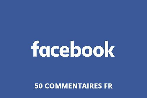 50 commentaires FR Facebook