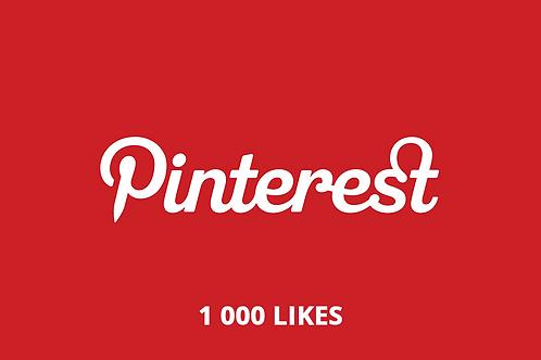 1 000 likes Pinterest