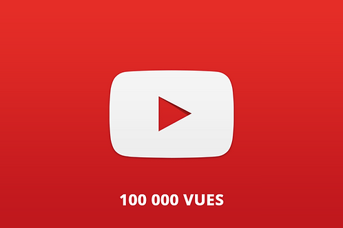 100 000 vues Youtube