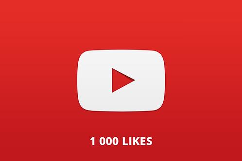 1 000 likes Youtube
