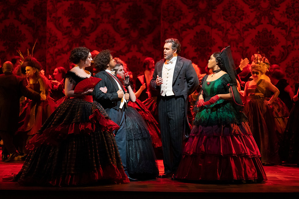 La Traviata 1 (Lyric 2019) Todd Rosenber