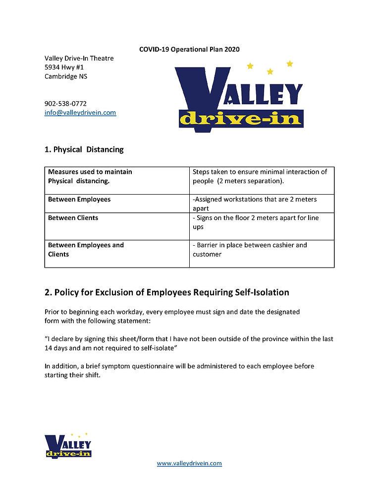 VDI Public Plan COVID operational plan 2