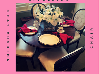 Tutorial | How to Upholster Dining Room Chairs